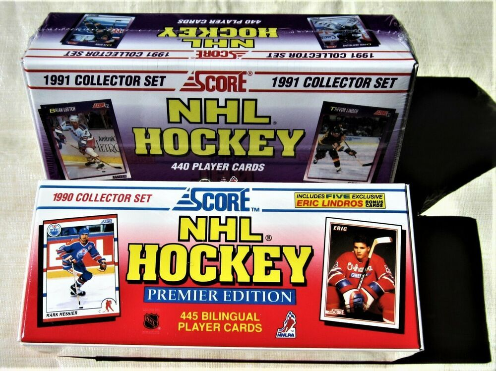 2 score hockey sets 1990 1991 factory jagr gretzky