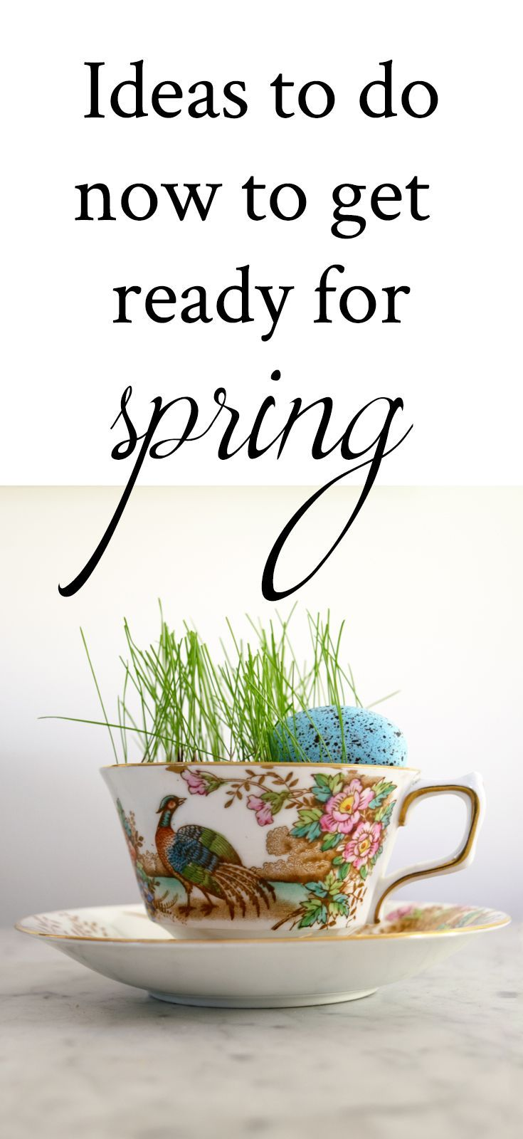 Easy Home Decor and Garden Ideas to get your home ready for Spring ...