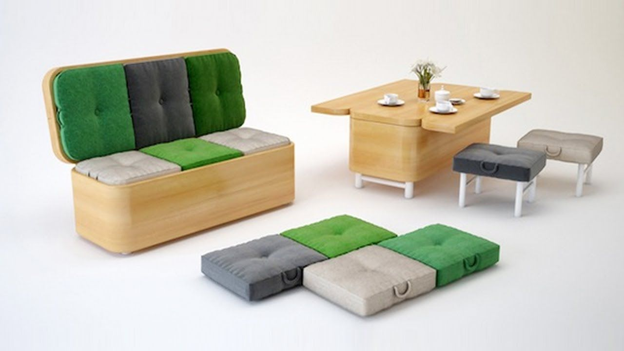 maxresdefault | furniture | Pinterest | Space saving furniture ...