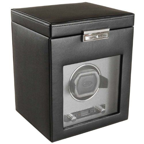 Wolf Designs 4561-02 Viceroy Collection Module 2.7 Single Watch Winder with Cover and Storage on http://watches.kerdeal.com/wolf-designs-4561-02-viceroy-collection-module-2-7-single-watch-winder-with-cover-and-storage