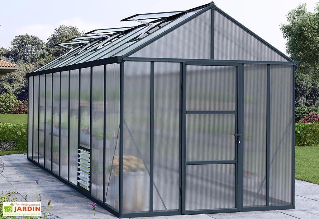 Serre De Jardin En Aluminium Et Polycarbonate Glory 14 7 M Palram Serre Jardin Polycarbonate Serre De Jardin Polycarbonate