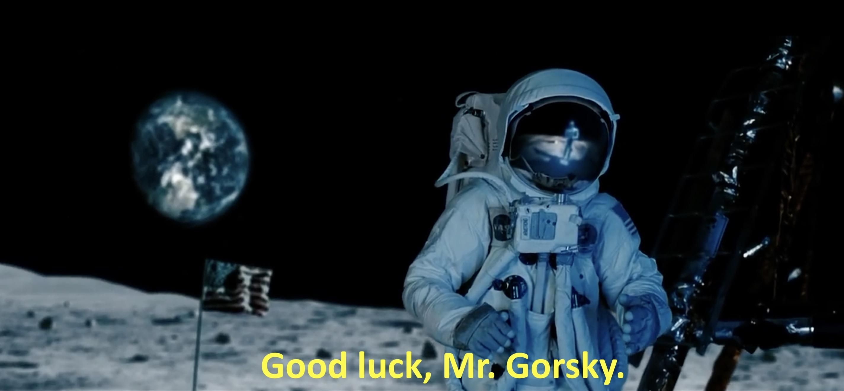 neil armstrong quote good luck mr gorsky