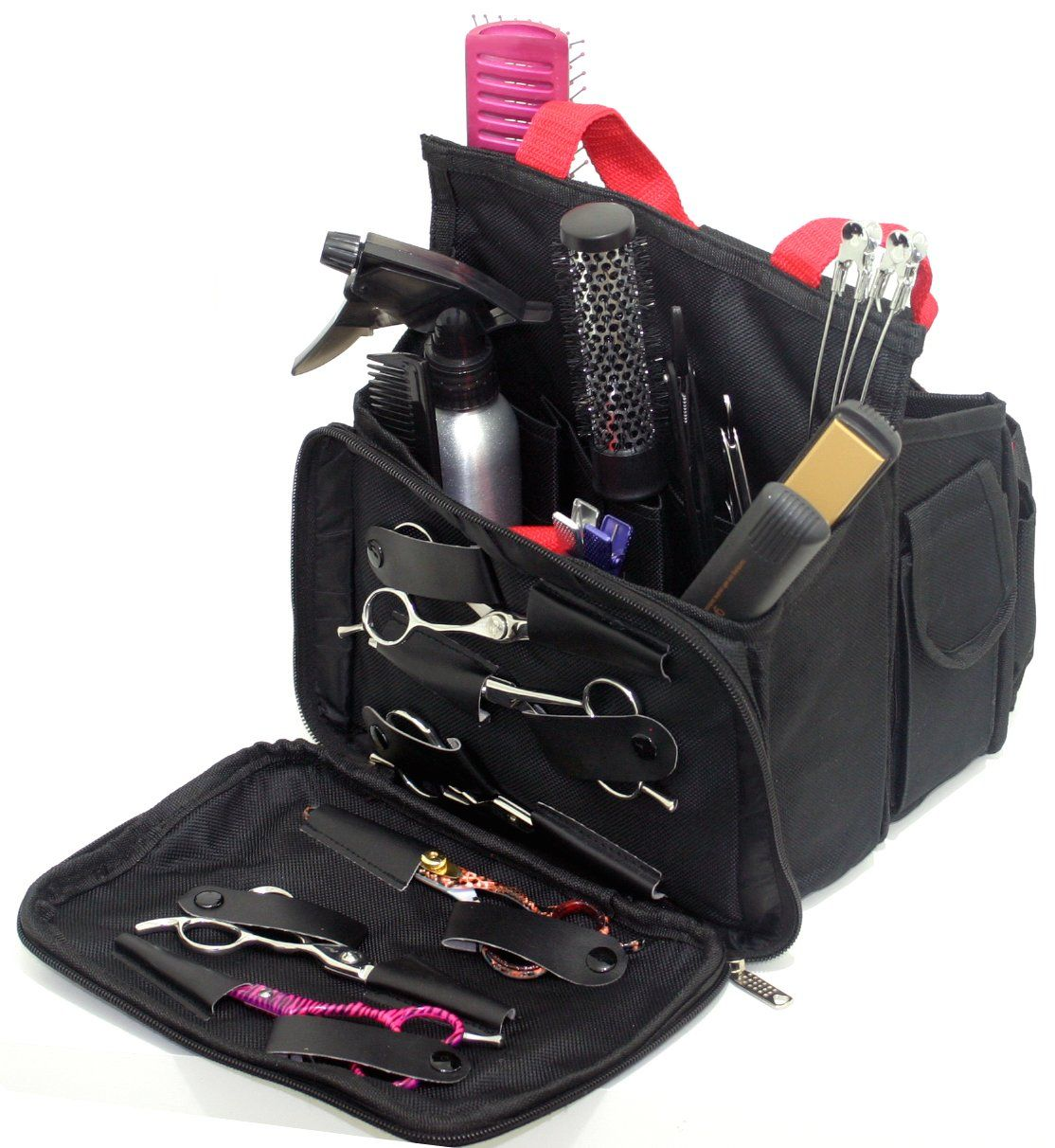 89374b8712 Hairdressing Tool Bag Carry Case Perfect for Hairdresser Barber Salon  Accessories Storage Session  Amazon.co.uk  Beauty