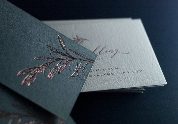Rose gold foiled business cards printed on 175gsm vellum white rose gold foiled business cards printed on 175gsm vellum white 175gsm dark grey colorplan paper designed by httpbeckylord printed by reheart Image collections
