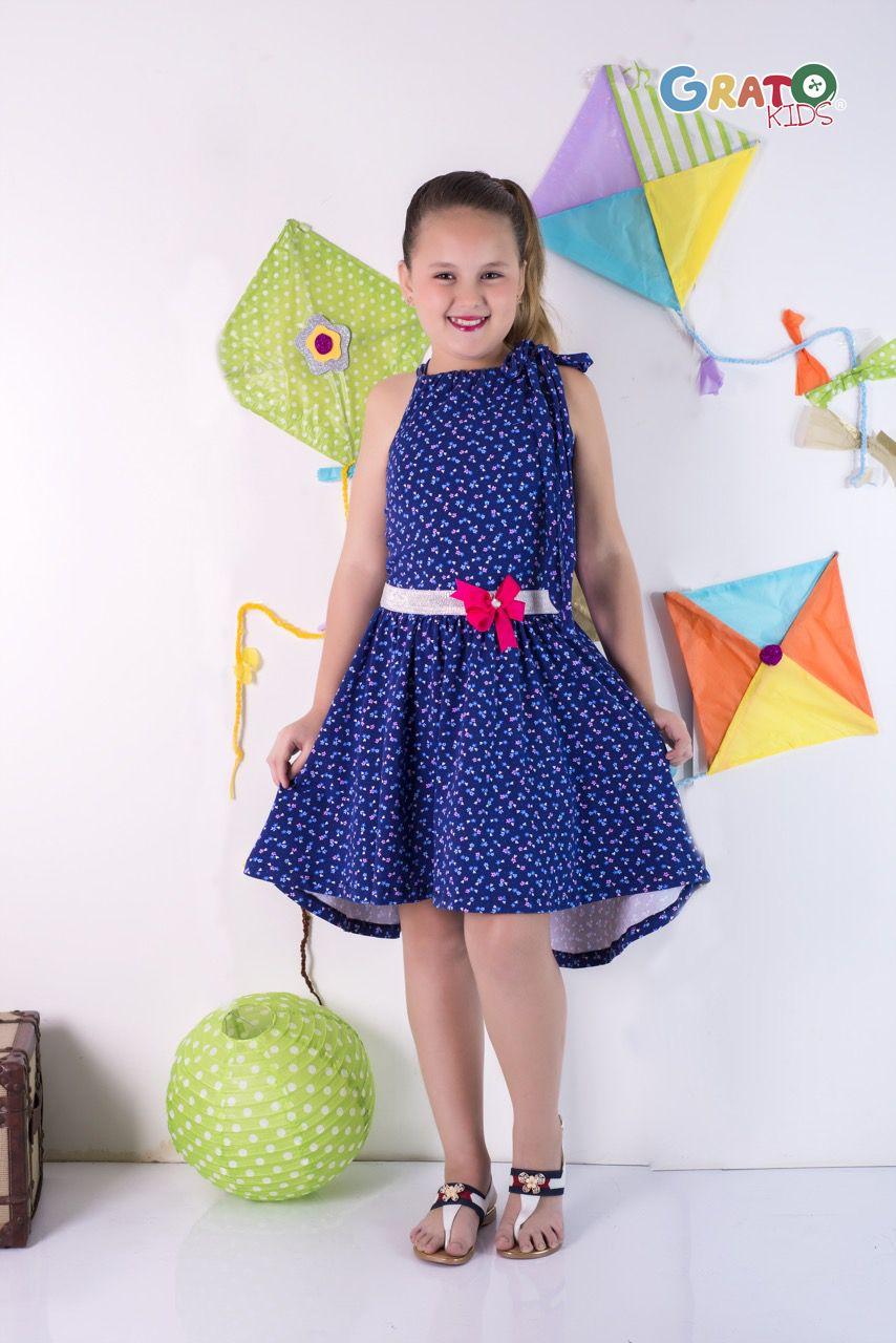 58a 25 Vestido Asimetrico Elaborado En Algodon Tallas 10 Anos 12 Anos 14 Anos Hacemos Envios Ropa Para Ninas Tiendas De Ropa Infantil Vestidos Nina Verano