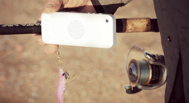 Go fishing?? Take SQueo™ with you, it floats when dropped into #water. soon on Kickstarter.