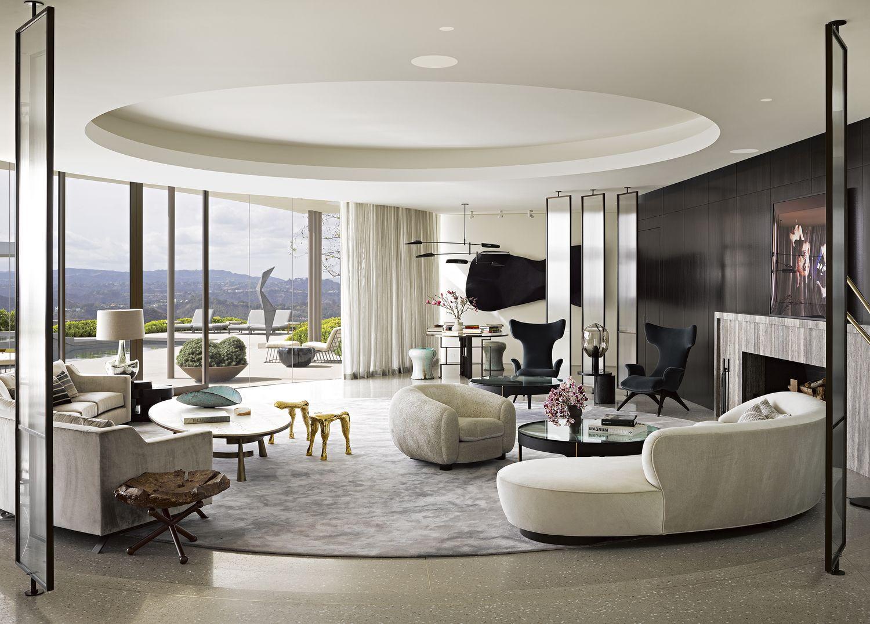 Jamie Bush Beverly Hills Modern Love Living Room Designs