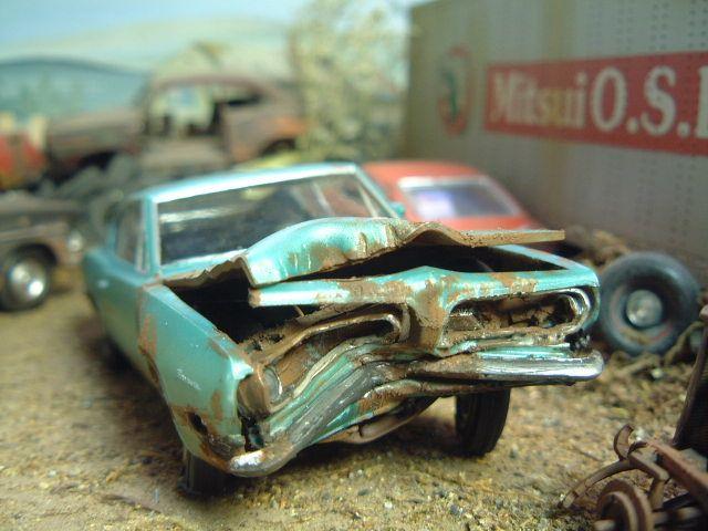 junkyard model cars in 125 scale