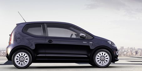 VW up!  (the original Beetle in spirit and idea reincarnate)    If I were to have a car right now, this would be it.