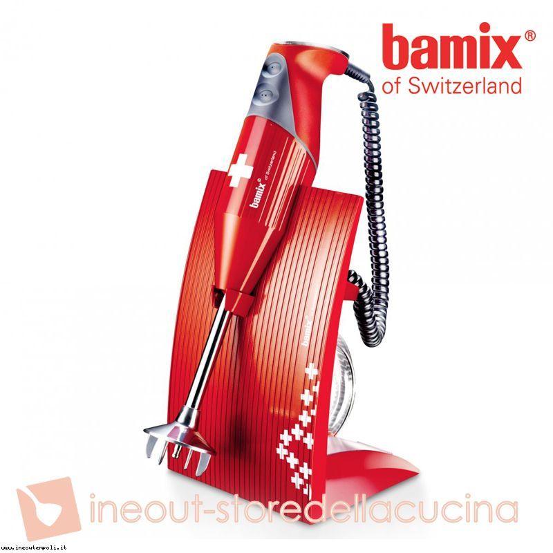 BAMIX Frullatore immersione 200W robot mixer minipimer SWISSLINE Rosso Croce Svizzera http://www.ineoutempoli.it/shop/95-bamix-frullatore-immersione-200w-robot-mixer-minipimer-swissline-rosso-croce-svizzera/