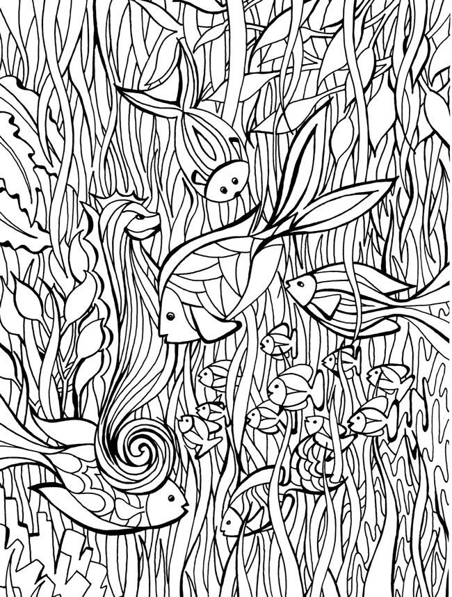 creative haven dreamscapes coloring book - Zentangle Coloring Book
