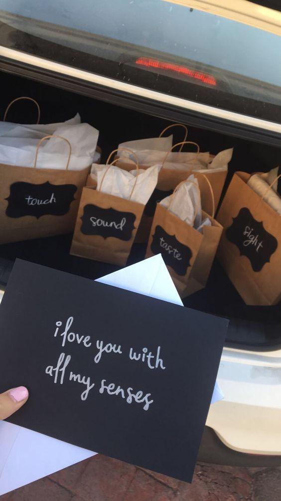 5 Sinne   Freund-Besitzer #boyfriendgiftsideas  – Geschenke