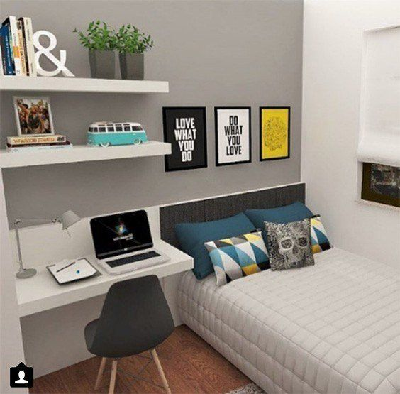 Simple Boy Bedroom Ideas | Small room bedroom, Bedroom ... on Bed Ideas For Small Rooms  id=50034