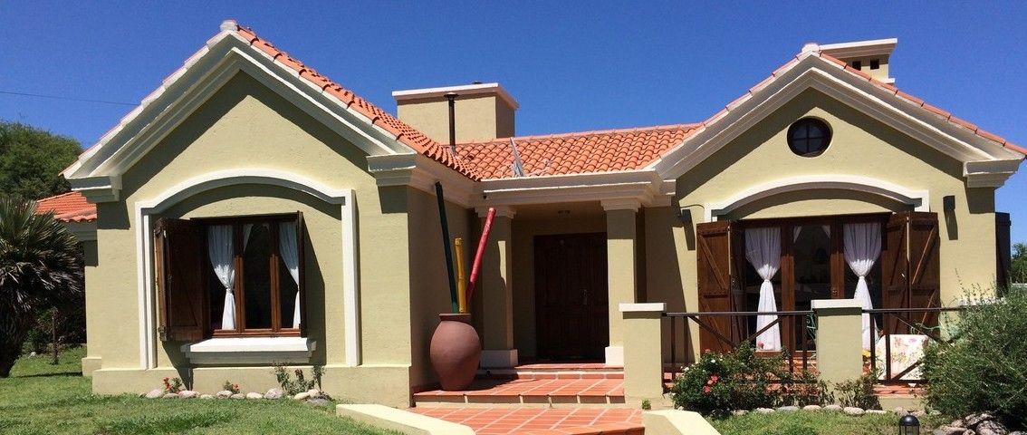 Casa La Encantada En Capilla Del Monte Casas Capilla Fachadas