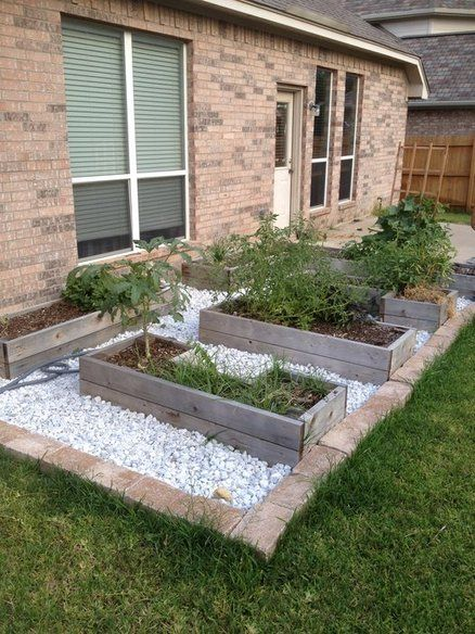 Raised Flower Beds Mobile Home Landscaping Landscaping With Rocks Brick Flower Bed
