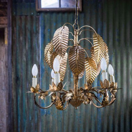 Gold palm tree chandelier lighting graham and green sources pinterest chandeliers palm and lights
