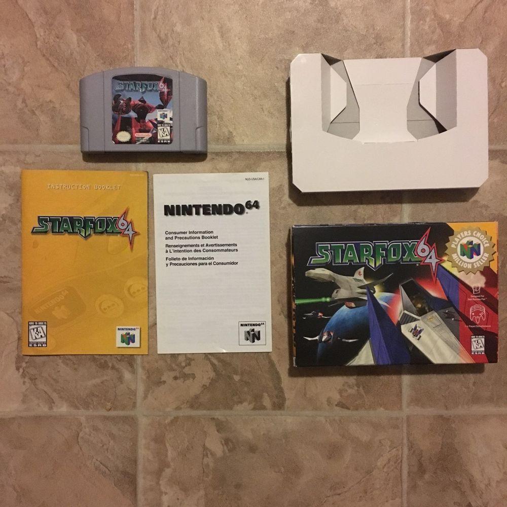 Star Fox 64 Nintendo 64 1997 CIB 045496870270 | eBay | For
