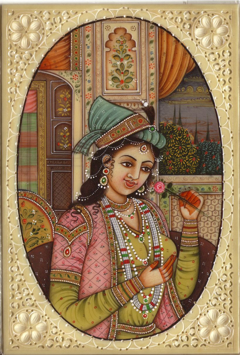 The greatness of Mughal queens Razia sultan and Nur Jahan   Mughal paintings, Indian art paintings, Indian paintings