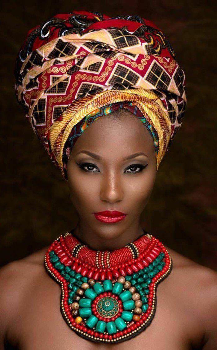 1001+ modèles impressionnants de foulard africain beauté