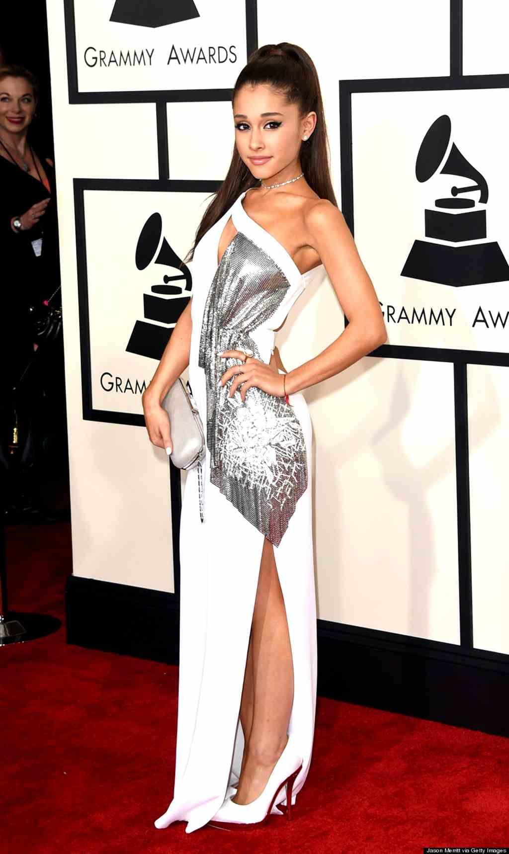Ariana grande grammy dress 2015 my style pinterest for Ariana grande wedding dress