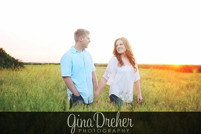 Engaged -Amy & Derek - ginadreherphotography