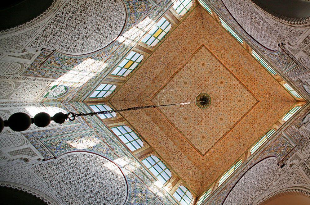 Marokko-Meknes (2010) - Arabesken im Mausoleum von Moulay Idris
