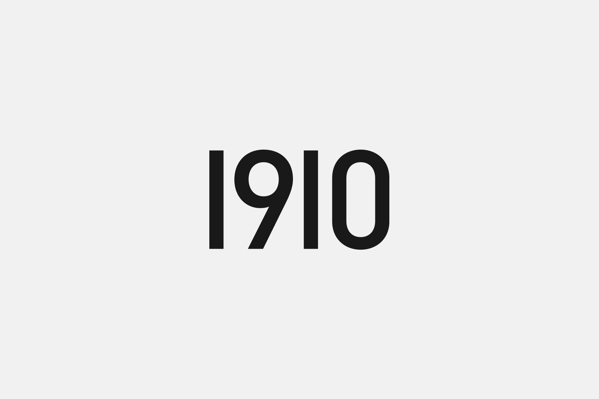 Logos & Marks | 1910 Design & Communication