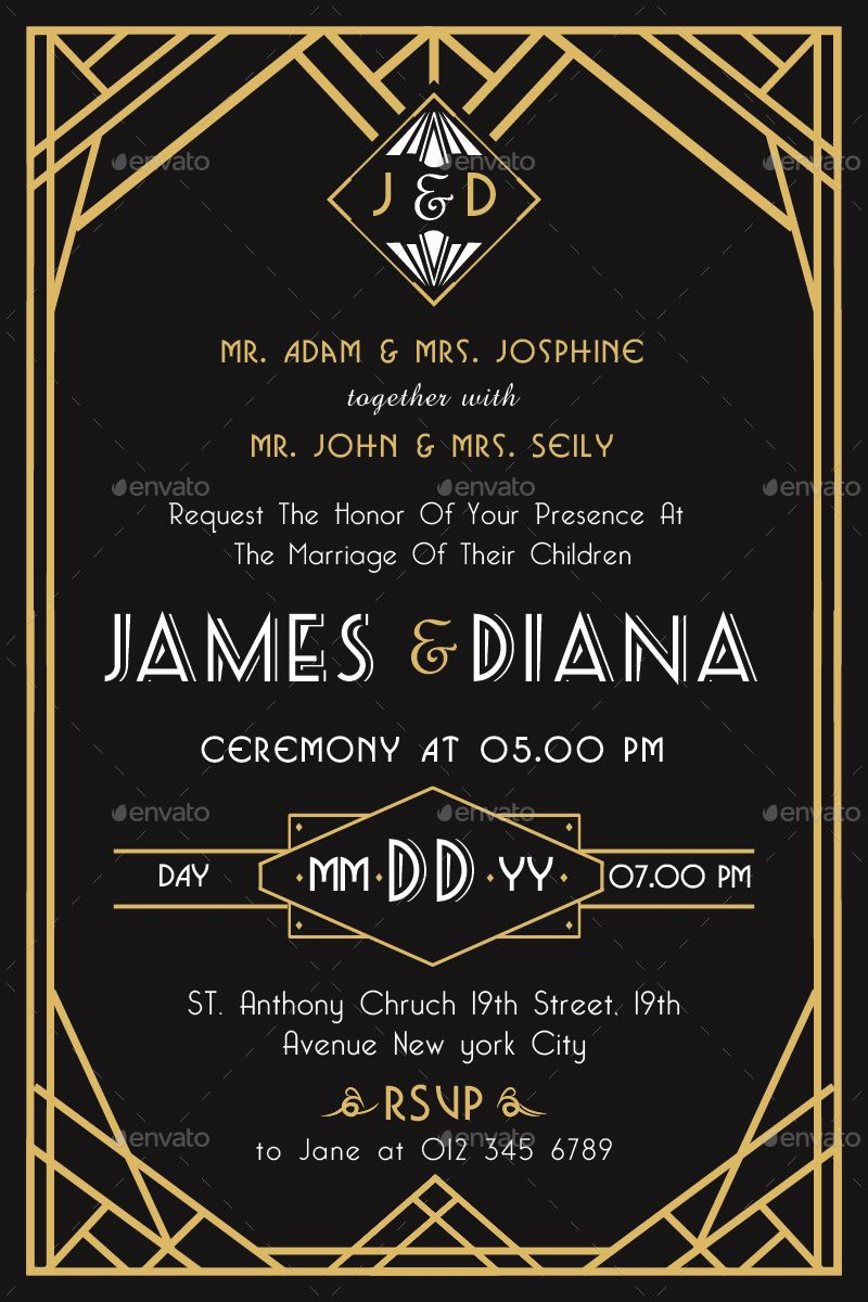 art deco wedding invitations the lost secret of art deco wedding
