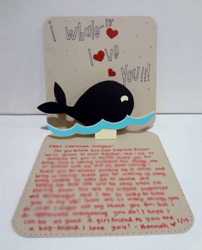 Handmade Card For Boyfriend Silly Hammy Invitations Banners