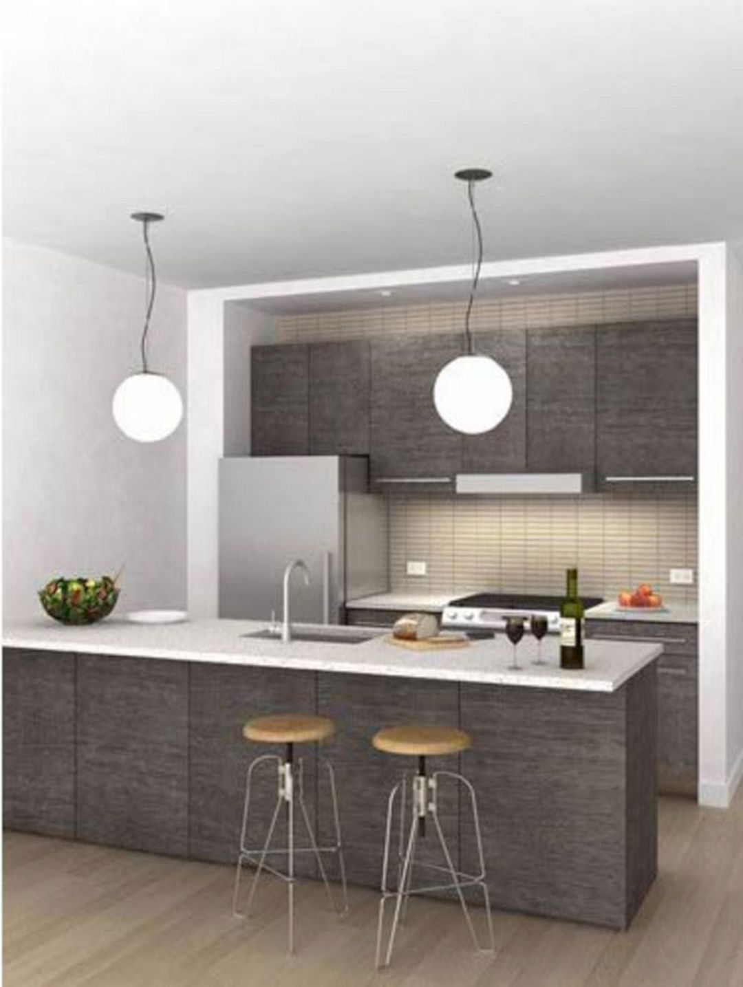 45 best charming mini kitchen design ideas for inspiration on kitchen remodeling ideas and designs lowe s id=52464