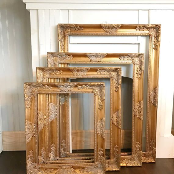 Large Vintage Style Frames Ornate Wedding Picture Frames