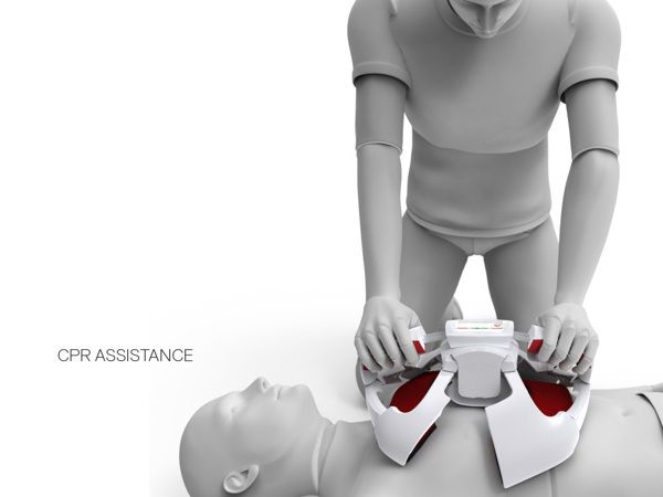 COR AED - Automatic External Defibrillator by Enzo Kocak, via Behance