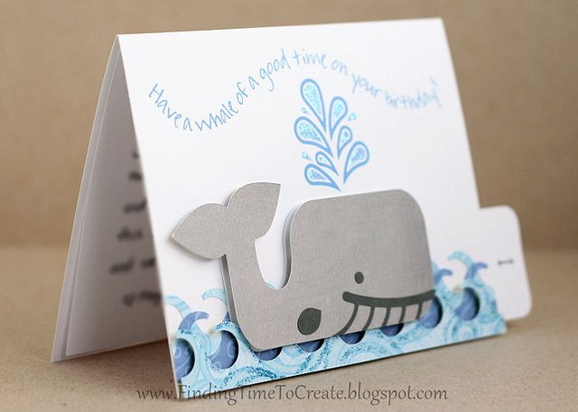 whale-card-side by krafting kelly, via Flickr
