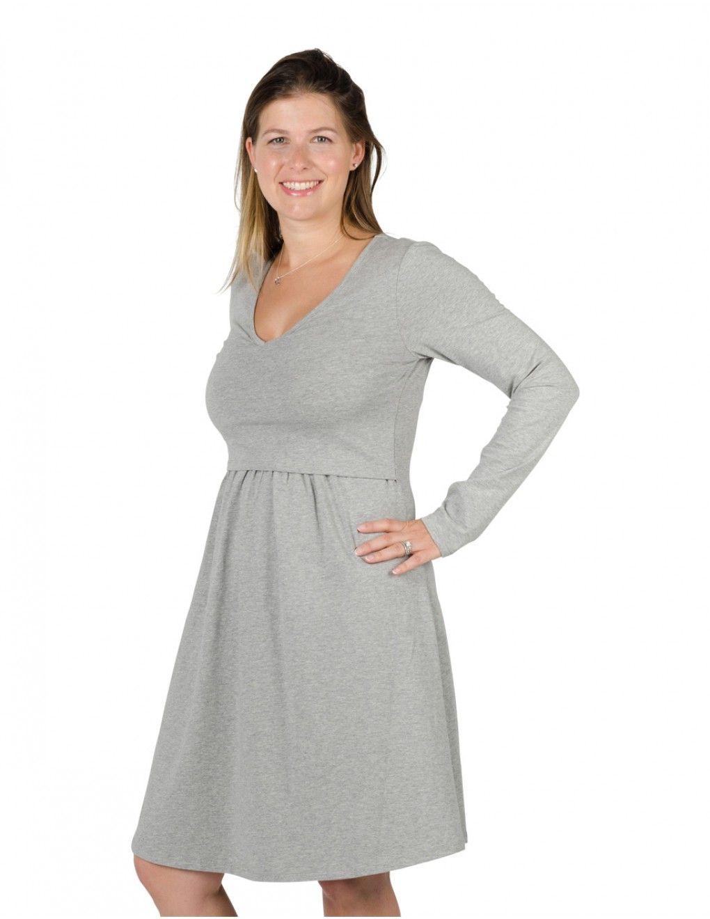 Maternitynursing dress elena nursing cotton dresses and warm maternitynursing dress elena ombrellifo Image collections