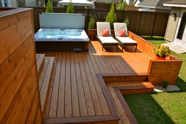 Amazing Patio Plus Installation De SPA