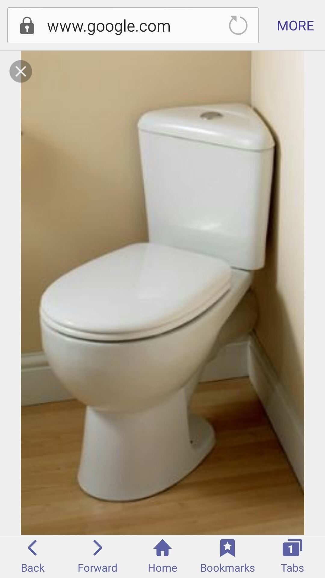 Pin By Jessica Wuest Jones On Bathroom Ideas Corner Toilet Modern Toilet Small Bathroom