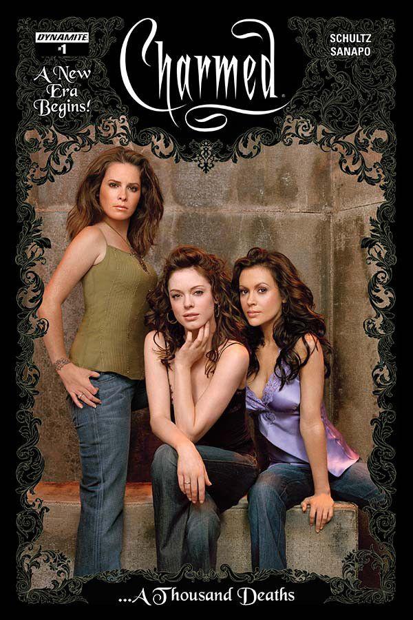 Charmed 1 Cvr C Group Photo Charmed Tv Show Charmed Tv Charmed Season 1
