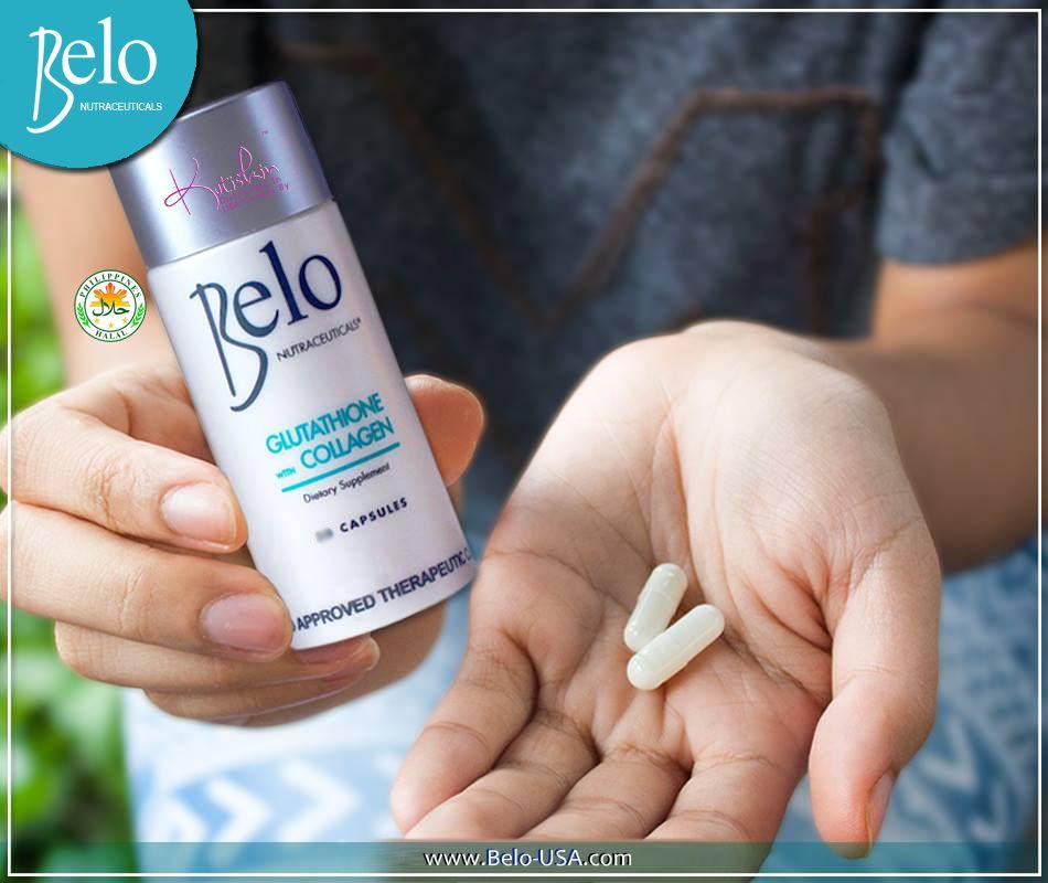 Belo * Nutraceuticals Glutathione + Collagen Dietary