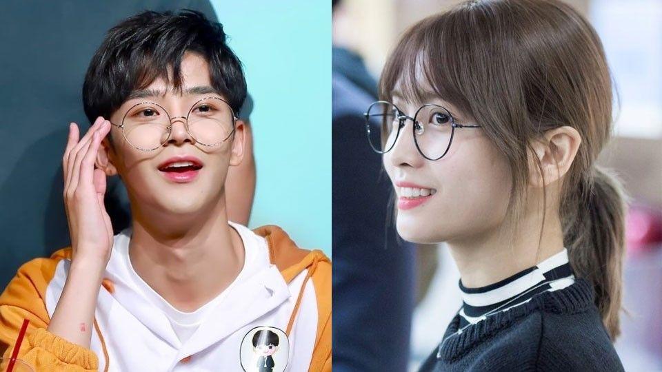 K Pop Idols Who Look Just Perfectly Irresistible In Glasses Kpop Idol Cute Glasses Idol