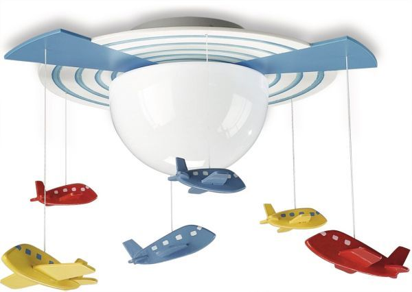Attractive Fun And Friendly Ceiling Lights For Kids Gallery