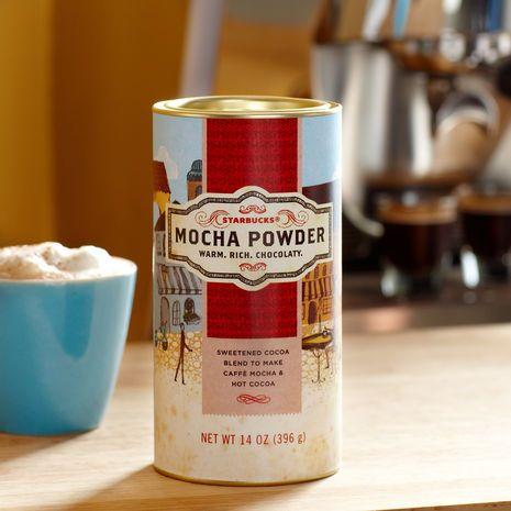 Starbucks® Mocha Powder. I need this.