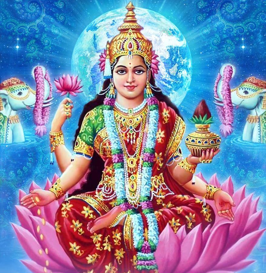 God Pictures, Goddess Lakshmi