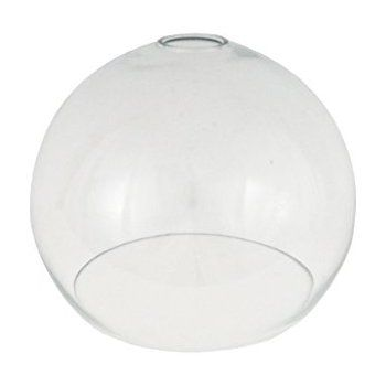 Clear open globe glass light shade 250mm for pendant lighting clear open globe glass light shade 250mm for pendant lighting replacement glass lampshade amazon aloadofball Image collections