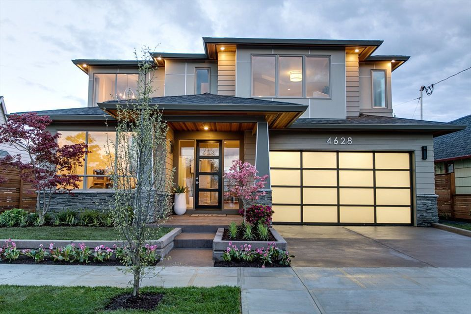 Designing To Fit The Neighborhood Craftsman Like Outside Modern