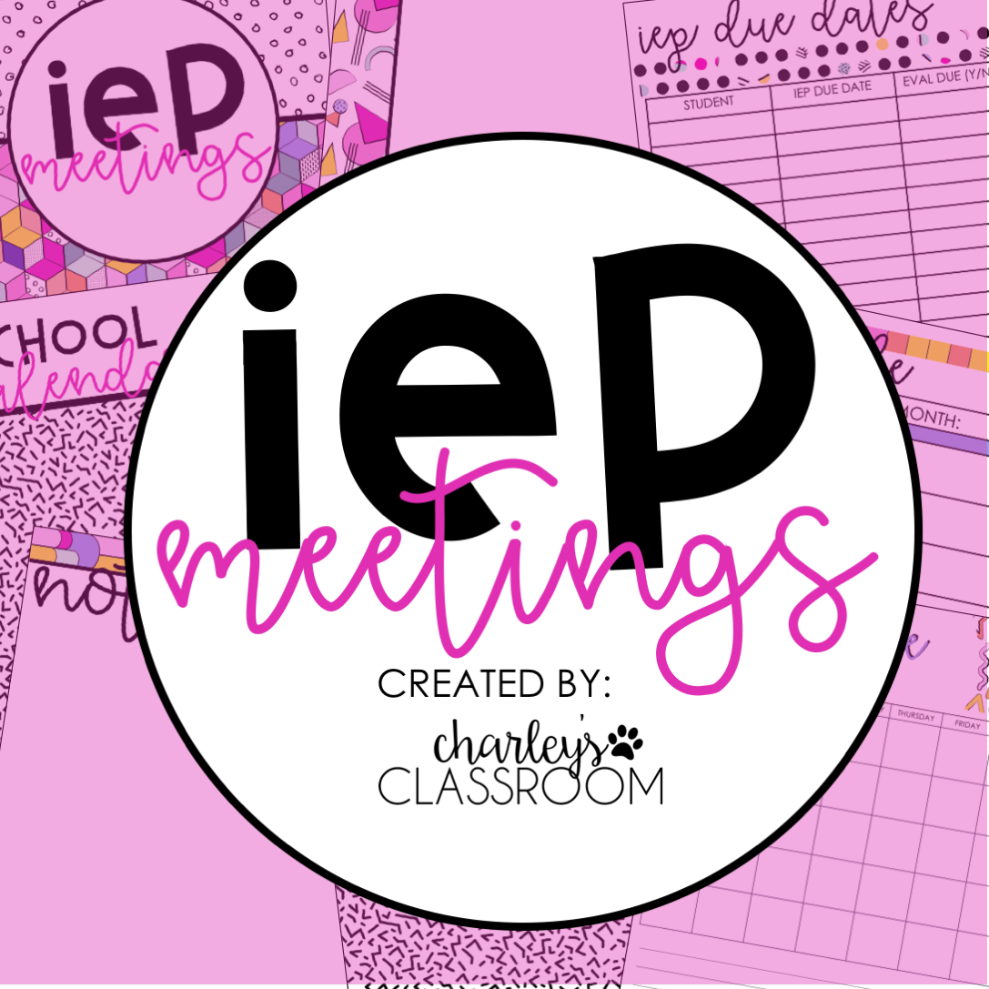 IEP Meetings For The Year (90s Style)