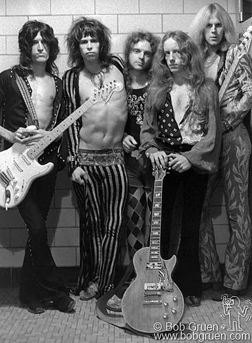 Aerosmith. September 1973.  They've been going at it for a while :-D  ... Still love me some Steven Tyler!