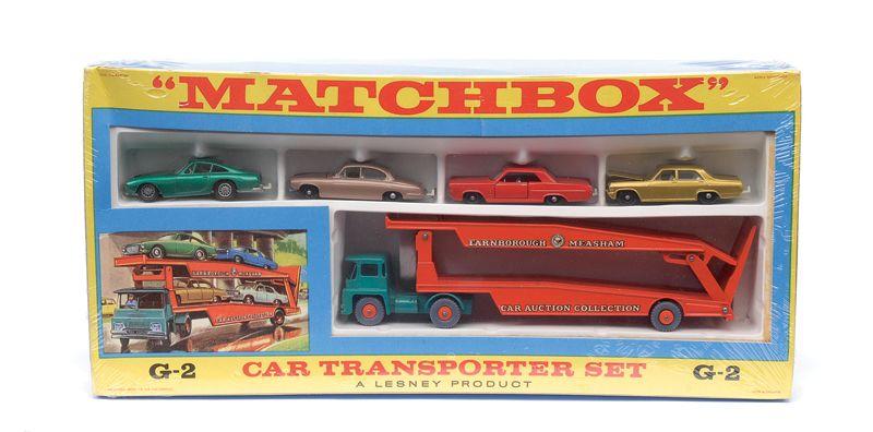 Matchbox Regular Wheels No G2 Gift Set Comprising Of No K8 Guy