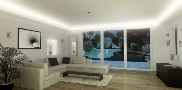 eclairage led plafond maison ventana blog. Black Bedroom Furniture Sets. Home Design Ideas