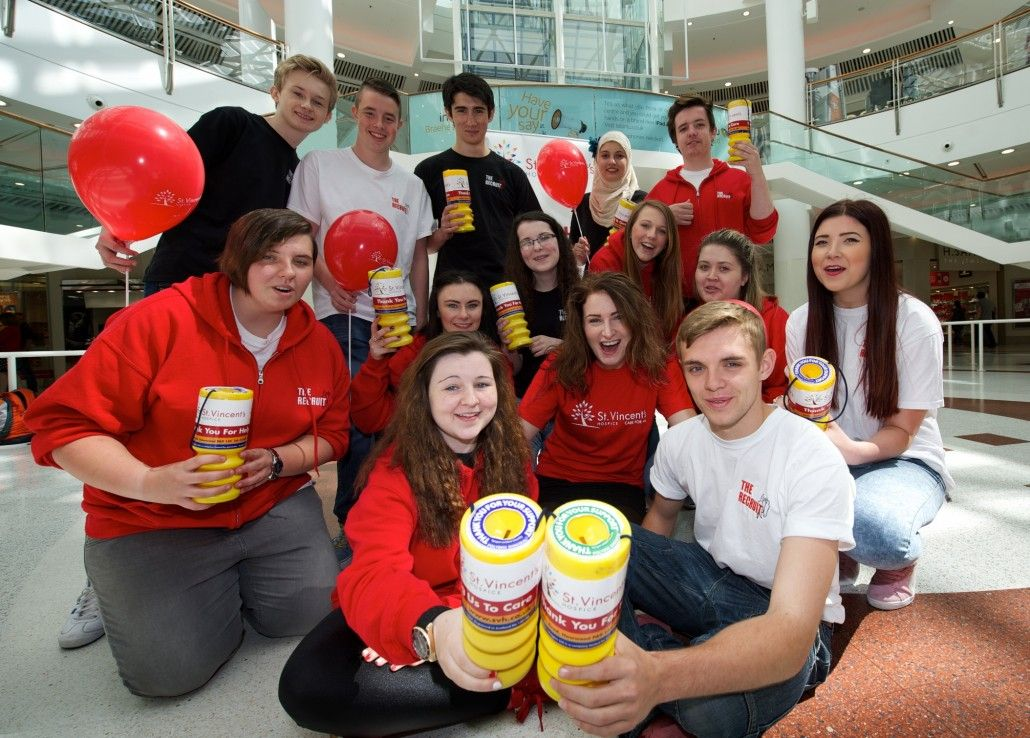 Recruits are just the jobs for charity Paisley Scotland