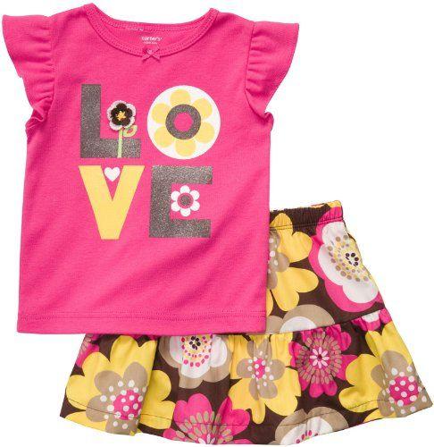 Carter's Skort Set – Pink Floral-9 Months « Clothing Impulse